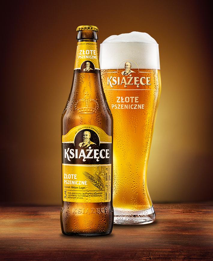 Książęce Złote Pszeniczne 50cl Bottle House Of Beer